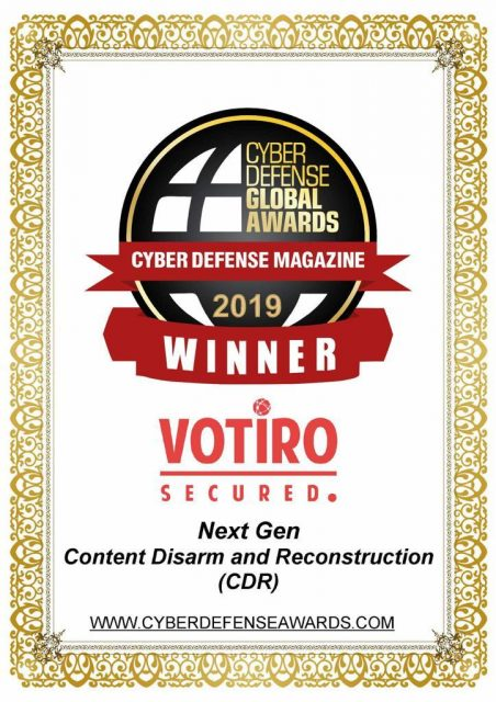 Votiro Award