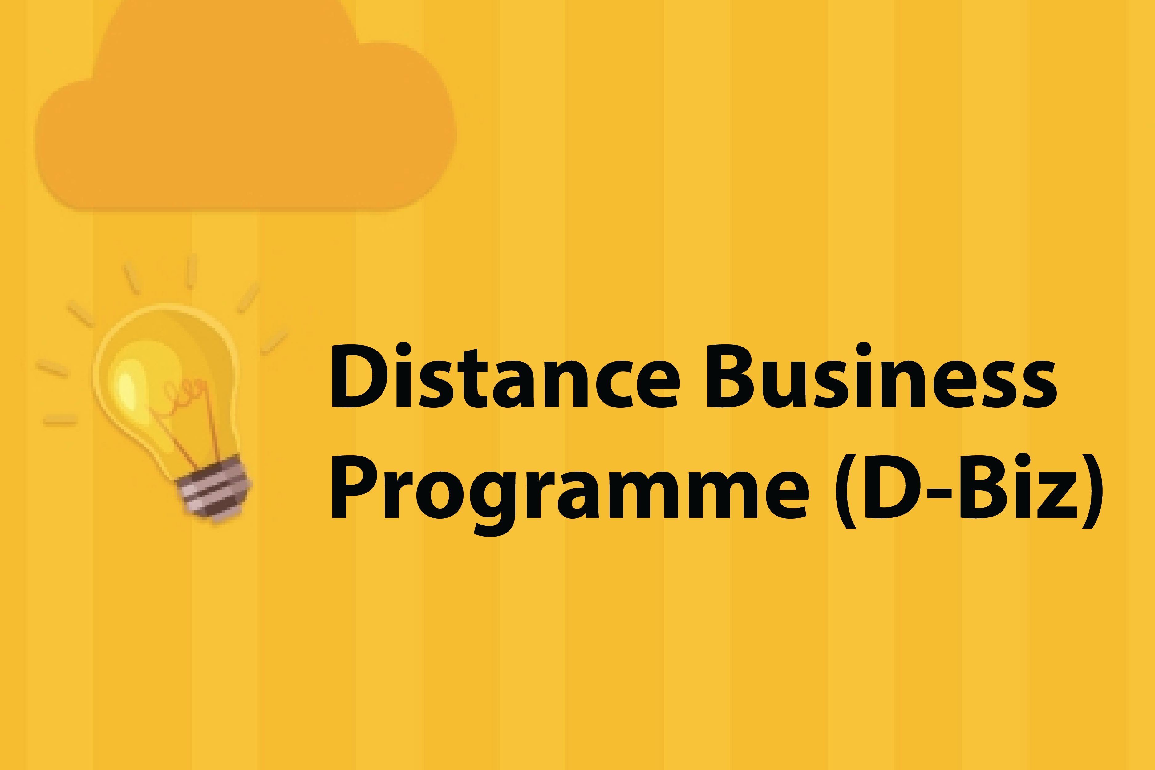 Distance Business Programme (D-Biz) - GovHK - COVID19 Small Business Support