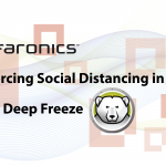 Enforcing Social Distancing in Labs with Deep Freeze